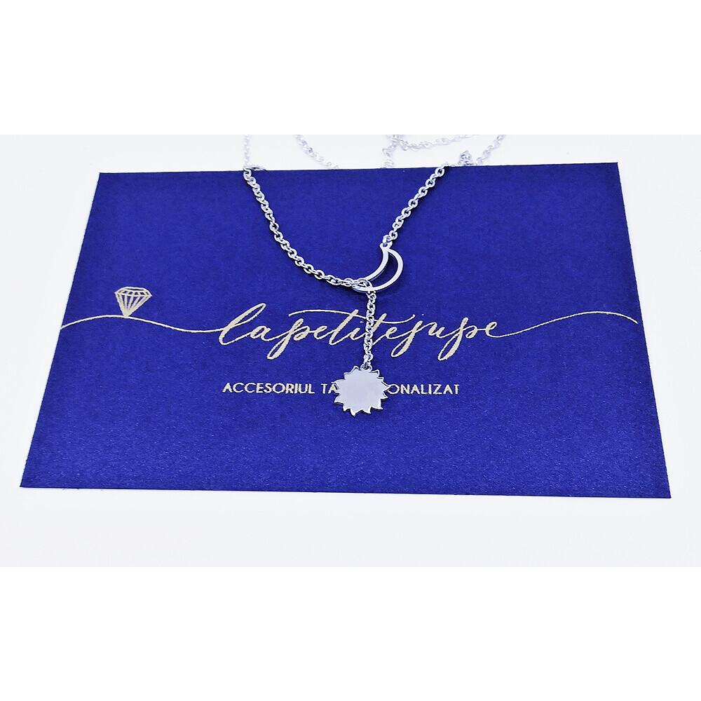 Lantisor-Pandantiv-luna-soare-argint-925-La-Petite-Jupe